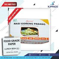 Kotak Makan Food Grade size Large - Box Catering - Kotak Nasi Hiegenis