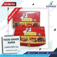 Box Nasi Food Grade Berlaminasi