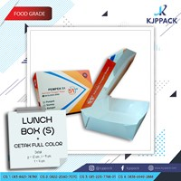Cetak Kemasan Lunch Box Small - Kemasan Take Away Porsi Kecil - Kemasan Snack