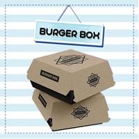 Burger Box Custom Desain Full Color