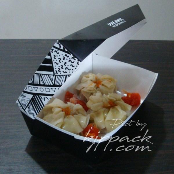 BOX FOOD GRADE RAMAH LINGKUNGAN UNTUK KEMASAN NASI DAN BERBAGAI MAKANAN DENGAN DESAIN UNIK DAN MENARIK