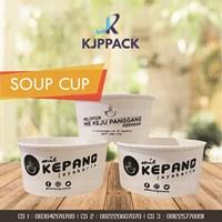 Mangkok Soup berbahan kertas anti Bocor dan tahan panas - cocok untuk take away makanan berkuah