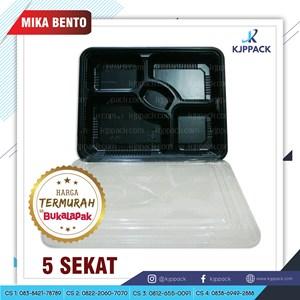 Mika Bento Sekat - Bento Box Partisi untuk catering dan kemasan take away termurah di Jawa Tengah