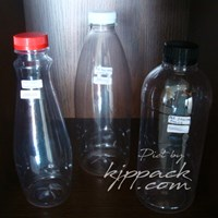 Jual Botol Plastik PET - Botol Plastik Tebal berbagai Tipe dan Ukuran Termurah Berkualitas Area Semarang