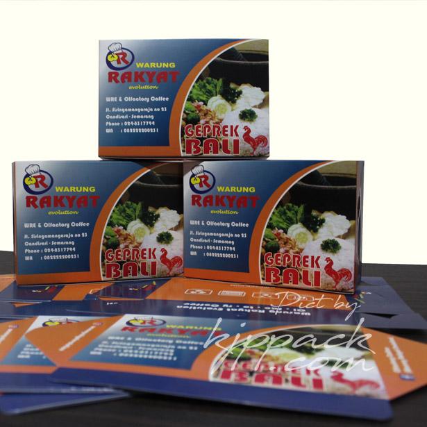 Jual Box Nasi Print Desain Full Color - Jasa Desain Box ...