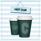 Plastik Cup Paper Cup Sablon Logo dan Tulisan Coffee Shop dan Restoran 1
