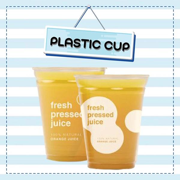 Plastik Cup Paper Cup Sablon Logo dan Tulisan Coffee Shop dan Restoran