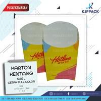 Distributor Paket Cetak berbagai kemasan Take Away - Plastik Cup Paper Box Paper Cup 3