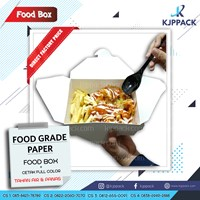 Paper Food Box Suitable for a variety of Food packaging - PE foodgrade laminated