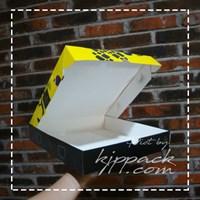 Box Pizza Custom Desain - Pizza Box Bahan Ivory Foodgrade