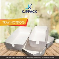 Kemasan Corndog - Food tray Hot Dog - Kemasan Aneka Snack