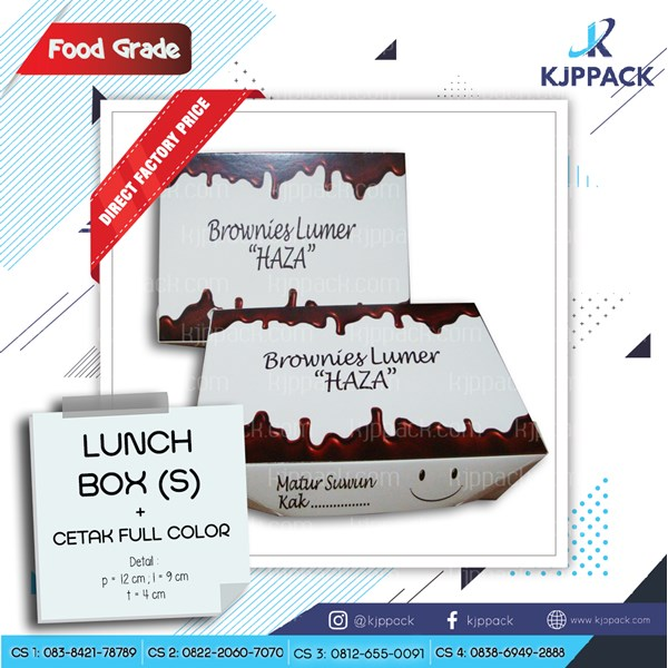 Kemasan Brownies Lumer Semarang - Box Brownies/Roti/Cookies anti lengket