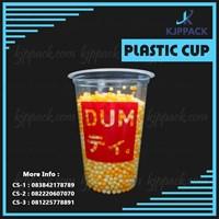 Sablon Plastik Cup Thai Tea Dum dum/ Gelas Plastik Cheese Tea Solo Jogja dan sekitarnya