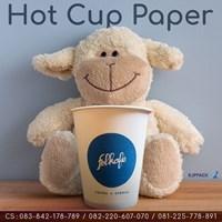Paper Cup Anak Panah Caffee / folkafe Semarang - Cetak Logo Caffee mu sekarang !