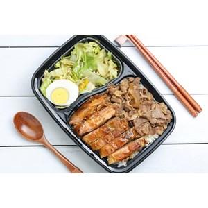 Bento Box - Chicken Rice Bento - Partisi Bento Foodgrade