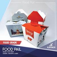 Cetak Kemasan Rice Box Medium/Box murah Tahan Minyak