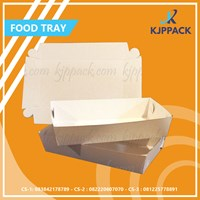 S / M / L Paper Tray Size - Food Tray - Paper Food Container - Suitable for packaging food festivals