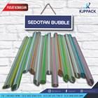 Sedotan Plastik Ujung runcing dan tumpul - Sedotan Bubble / Sedotan Higenis / Sedotan Fleksible 2