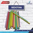 Sedotan Plastik Ujung runcing dan tumpul - Sedotan Bubble / Sedotan Higenis / Sedotan Fleksible 1