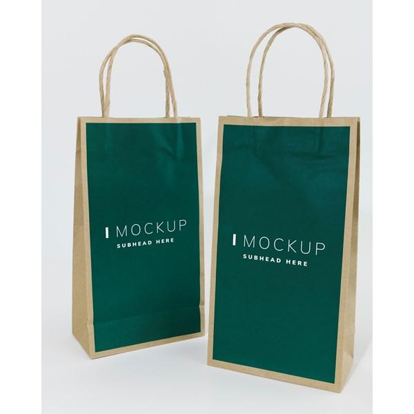 Craft Bag - Shopping Bag dengan bahan Craft desain custom sesuai keinginan