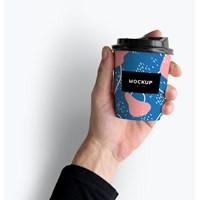 Desain Cup Paper Unik - Cetak Desain Hot Cup Full Color Murah