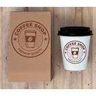 Branding Coffee Shop Desain Logo Pada Paper Cup dan Shopping Bag Jakarta Malang Bandung 1