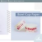 Cetak logo pada paper bowl - Mangkok kertas serbaguna untuk berbagai makanan 1