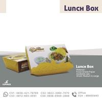 Lunch Box Aneka Mie - Kemasan Kardus/kertas cetak desain Semarang