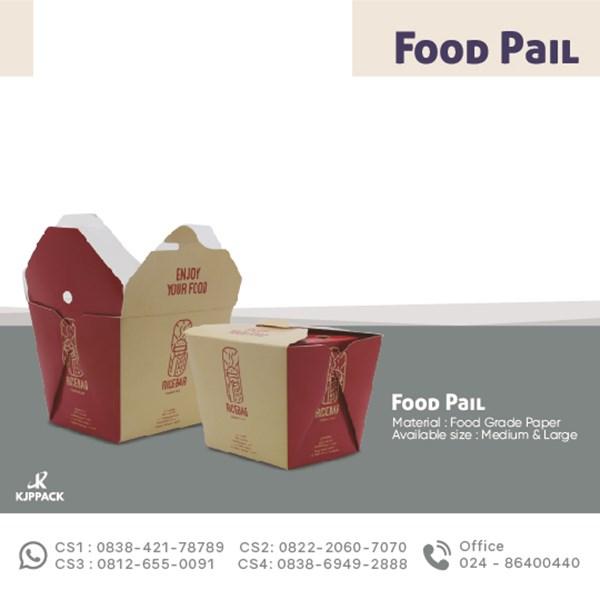 Kemasan Karton Unik Bahan Tebal dan Anti Minyak - Bisa Untuk Berbagai Makanan
