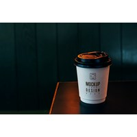 A cup of Coffee - Custom Desain Hot Cup - Cetak Logo pada Paper Cup Gelas Kopi Masa kini