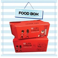 Box Various Bread / Box Cookies - Minimalist Design Easy to Carry - Thick Material Custom design as desired