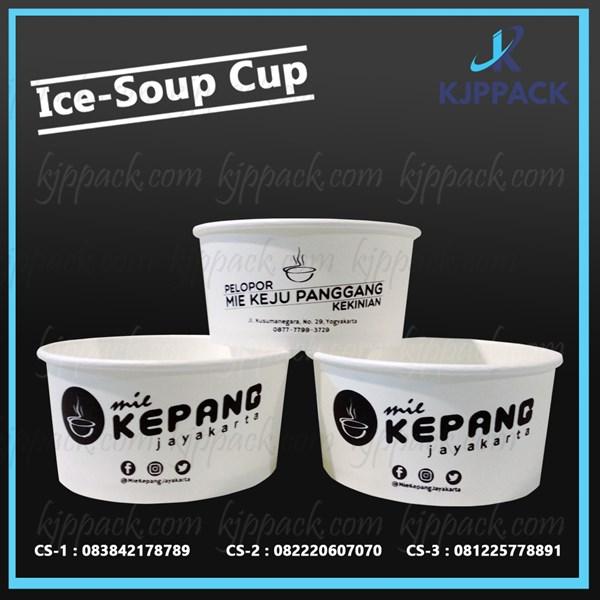 Cetak Kemasan Soup cup 24 oz - 1 Warna