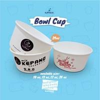 Paper Bowl foodgrade Microwaveable - packaging bakso aci/seblak dan makanan berkuah