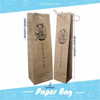 Print paperbag kraft paper - Environmentally friendly City of Semarang 1