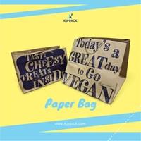 Custom ukuran dan desain paperbag berbahan kraft - Custom Shopping bag Semarang