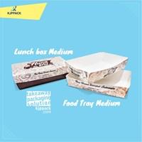 Lunch Box / Paper Box Kotak Makan nasi higenis dan sebaguna kota Yogyakarta