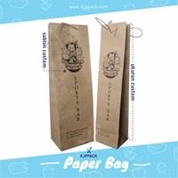 Paper bag Wine - Tas Kemasan Wine dan aneka minuman lainnya