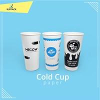 Paper Cup Susu Premium high quality / Cold Cup / Hot cup paper Kota Jogja