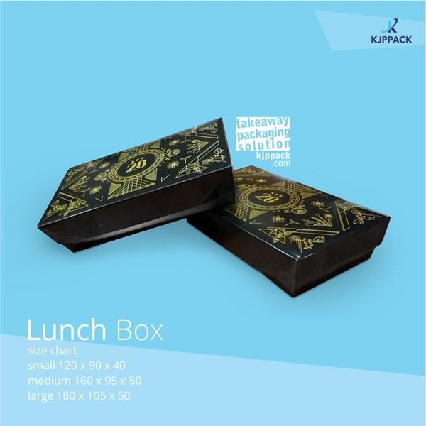 Kotak kemasan Box Nasi Cetak Full WARNA - Desain Bebas tanpa batasan