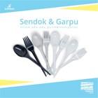 Sendok garpu foodgrade / perlengkapan takeaway makanan 1