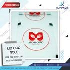Paket Sealer Cup / Lid Roll polos atau sablon dan mesin sealer di murah meriah Kota Semarang 1