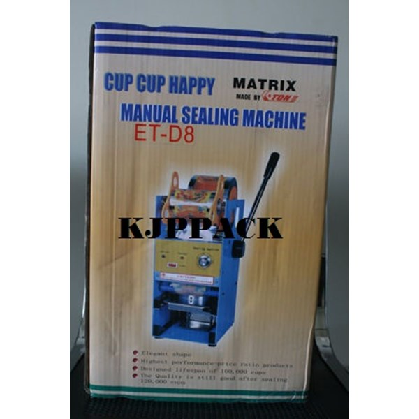Paket Sealer Cup / Lid Roll polos atau sablon dan mesin sealer di murah meriah Kota Semarang