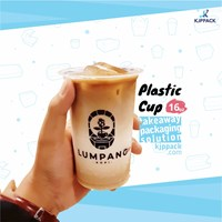 Print plastic cups with your coffee shop logo - Most hits!