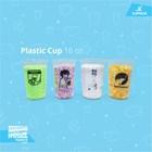 Jasa sablon gelas plastik - cocok unutk Kopi Paling Murah dan berkualitas 1