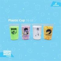 Jasa pembuatan logo pada kemasan take away - jasa cetak logo plastik cup dan box takeaway