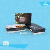 Cetak kemasan Printing Paper Box Large Food Grade Microwavable