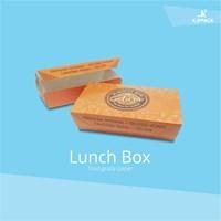 Box Makanan Eco Green Terbuat Dari Bahan Kertas Foodgrade dan Ramah Lingkungan