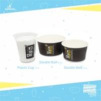 cetak kemasan paper bowl makanan berkuah bubur / bakso / soto - menarik dan berkualitas
