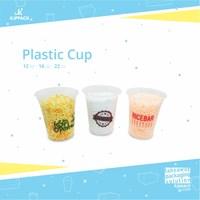 Cetak Plastik cup Bahan PP Sablon Cup Murah di Semarang
