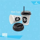 Paper cup screen printing / hot cup 10 oz12 oz and other sizes are the best quality neat screen printing 1